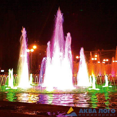 Светодинамический фонтан гармония