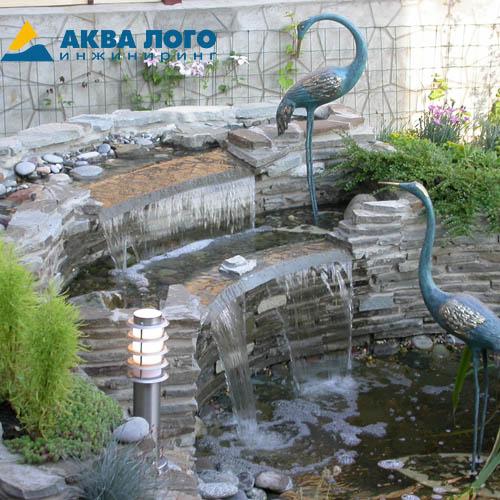 Изготовим и установим водопад